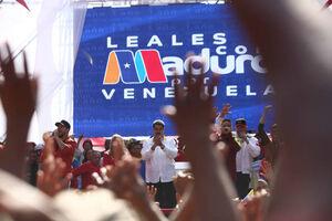 عکس/ تجمع هواداران مادورو در ونزوئلا
