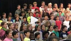 سرود مدارس آمریکا +فیلم