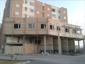 مورد عجیب یک ساختمان مسکن مهر! +عکس