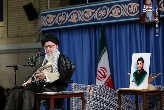فیلم/ شهیدی که عکسش در کنار رهبرانقلاب قرار گرفت