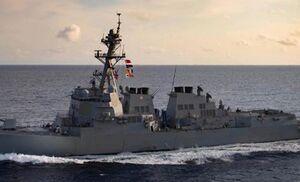 احتمال درگیری مستقیم ناوهای آمریکایی با چین