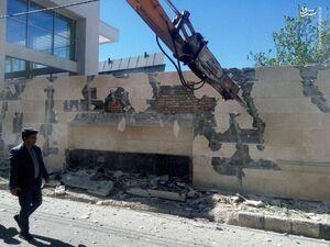 فیلم/ تخریب ویلاهای غیرمجاز در دماوند
