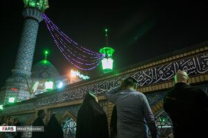 عکس/ احیای شب نوزدهم ماه رمضان در تهران