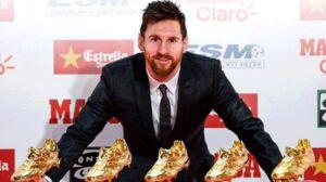 مسی به دنبال ششمین کفش طلا