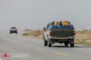 قاچاق بنزین از روستایی که به اوپک ایران مشهور است.