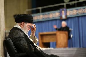 عکس/ مراسم سوگواری شهادت امام علی(ع) در محضر رهبر انقلاب