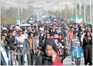 رشد۶۰میلیونی جمعیت در ۶۰سال/میانگین سن زنان ومردان ۸ سال اضافه شد