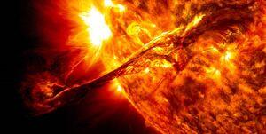 کشف مادهای عجیب در جو خورشید