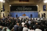 دومین روز مراسم سوگواری شهادت امام علی(ع) در حضور رهبر انقلاب