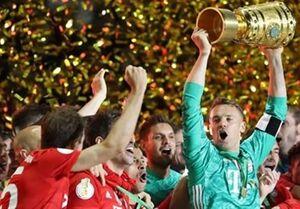 بایرن مونیخ قهرمان جام حذفی آلمان شد