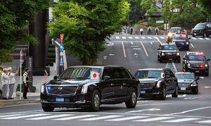 فرش قرمز ژاپن برای ترامپ