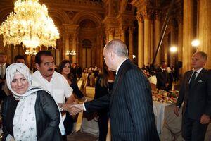 افطاری اردوغان به هنرمندان