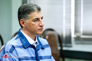 عکس/ دادگاه رسیدگی به اتهامات جعبه سیاه بابک زنجانی