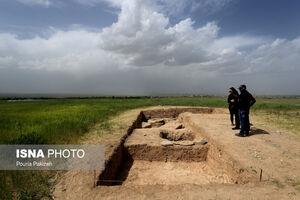 عکس/ کشف شهر زیرزمینی در صالح آباد