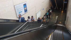 عکس/ متروی تهران شهادت امام علی(ع) را از یاد بُرد!