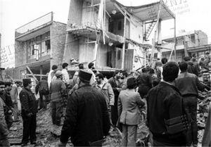 آغاز حملات هوایی به مناطق مسکونی تهران