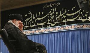 مراسم سوگواری شهادت امام علی(ع) رهبر انقلاب