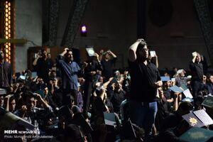 مراسم احیای شب بیست و یکم ماه مبارک رمضان در مسجد دانشگاه تهران