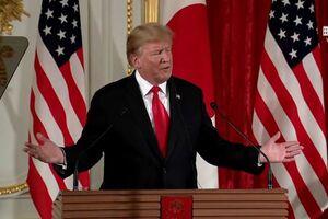 ترامپ - ژاپن - شینزو آبه