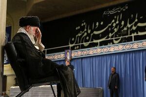 فیلم/ مراسم روضه سالروز شهادت حضرت امیرالمؤمنین در محضر رهبر انقلاب