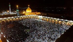 عکس/ مسجد کوفه در شب قدر