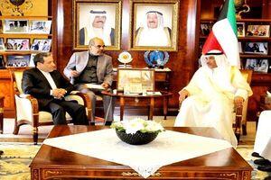 عراقچی با وزیر امور خارجه کویت دیدار و گفتگو کرد