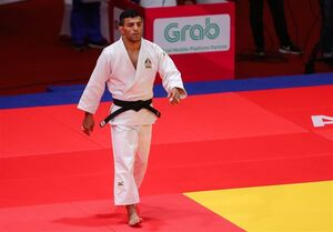 پیروزی سعید ملایی مقابل قهرمان المپیک