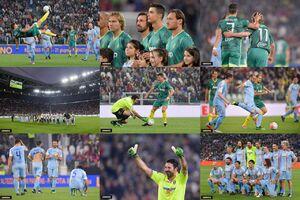 عکس/ دیدار ستارهها و اسطورههای فوتبال ایتالیا