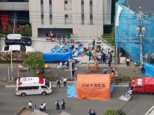 چاقوکشی خونین در ژاپن