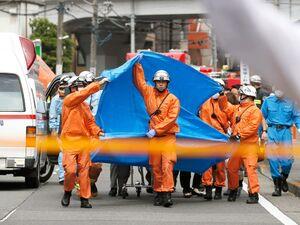 حمله با چاقو به دانش آموزان دختر در ژاپن+عکس