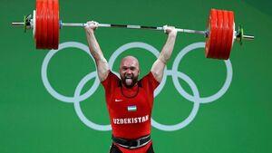 قهرمان وزنه برداری المپیک دوپینگی از آب درآمد