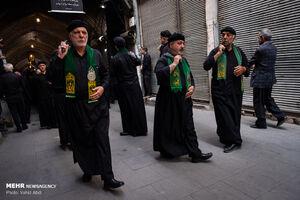 عکس/ عزاداری شهادت حضرت علی(ع) در بازار تبریز