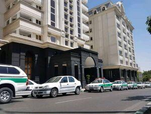 عکس/ ساختمانی که همسر نجفی در آن به قتل رسید