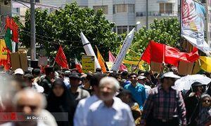 مسیرهای ۱۰گانه راهپیمایی روز قدس در تهران