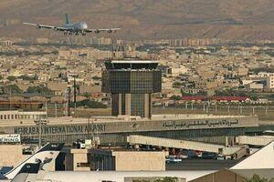 تعطیلی ۵ ساعته پروازهای مهرآباد در روز ۱۴ خرداد