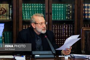 لاریجانی قانون حمایت از کالای ایرانی را ابلاغ کرد