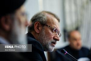 لاریجانی: اصلاح ساختار اقتصادی کشور شتاب می گیرد