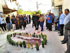 عکس/ محل دفن امام جمعه شهید کازرون
