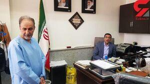 اولین تصاویر نجفی در دادسرای جنایی