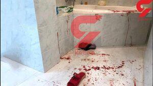 """عکس/ محل قتل """"میترا استاد"""" در وان حمام"""