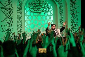 عکس/ احیای شب بیستوسوم رمضان در ریحانه الحسین(ع)