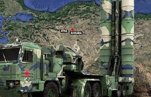 سامانه اس-400 در ترکیه در کجا مستقر میشود؟ +نقشه