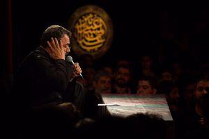 عکس/ احیای شب 23رمضان با نوای محمود کریمی
