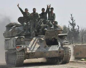 روایت یک منبع میدانی از آنچه در جنوب استان ادلب سوریه گذشت/  پایان رجزخوانیهای تروریستها در شهرکی که این روزها سر و صدای زیادی به پا کرده است+ نقشه میدانی و عکس