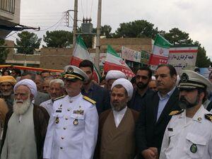عکس/ حضور فرمانده نداجا در راهپیمایی روز قدس