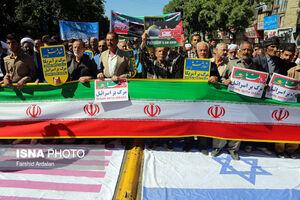 عکس/ راهپیمایی روز قدس در سراسر ایران