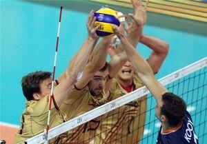 جدال همگروههای والیبال ایران را آلمان برد