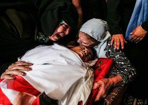 آمار شهدای فلسطینی در یک سال +عکس