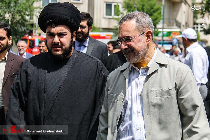 حضور سیدمحمد بطحایی در راهپیمایی روز قدس