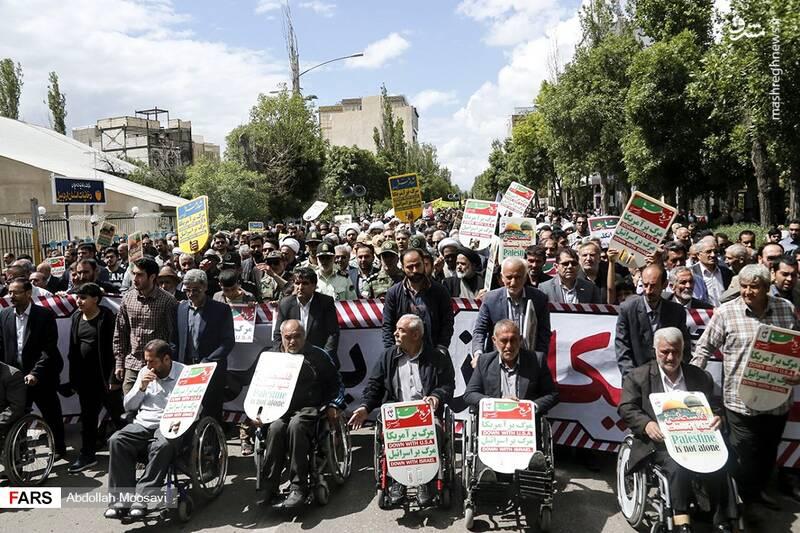 راهپیمایی روز قدس در اردبیل